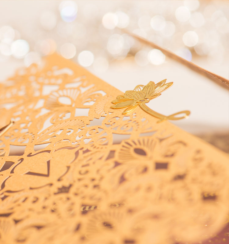 gold-plated-lotus-flower-invitation-embelishment
