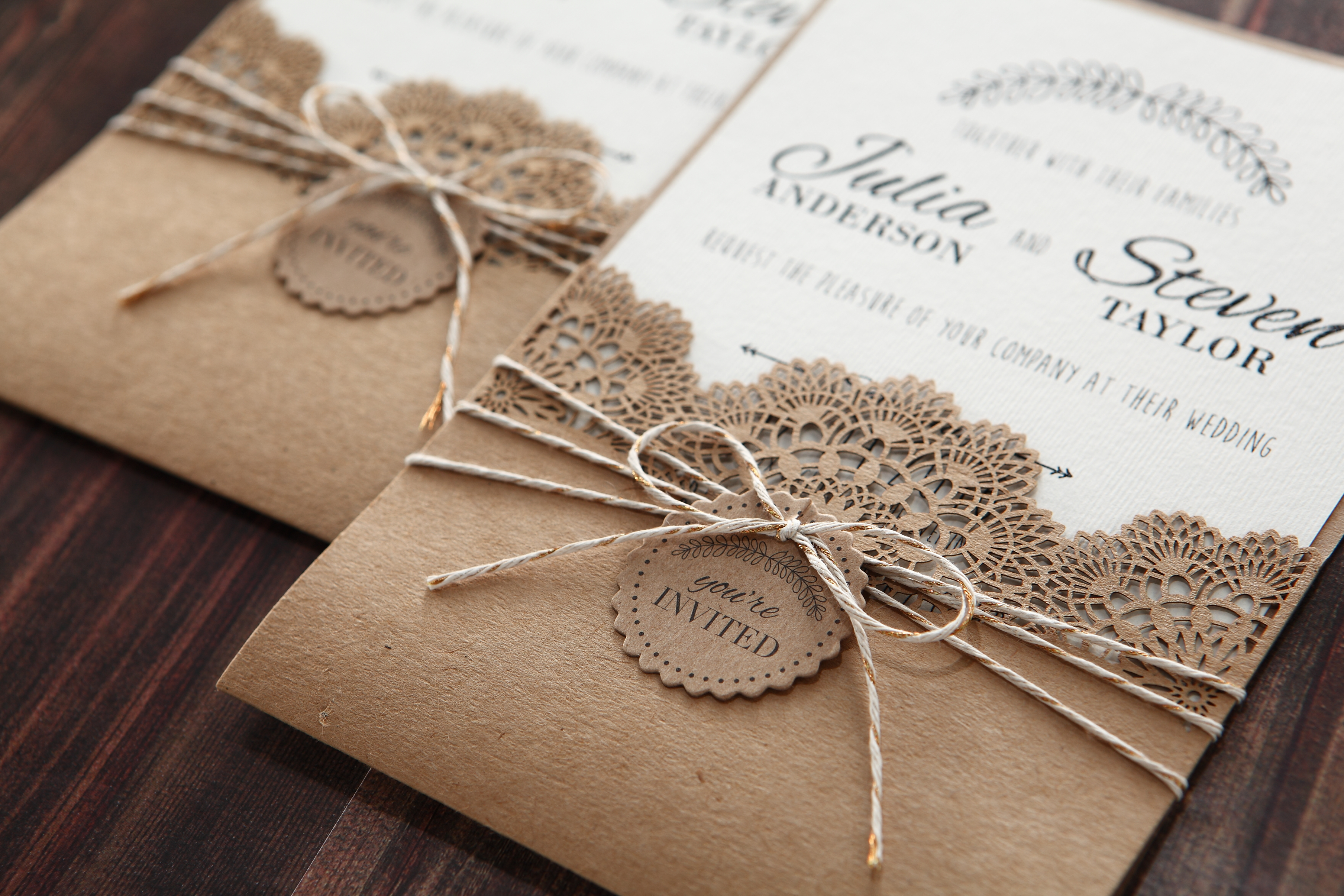 Choosing The Right Invitation For Your Rustic Wedding