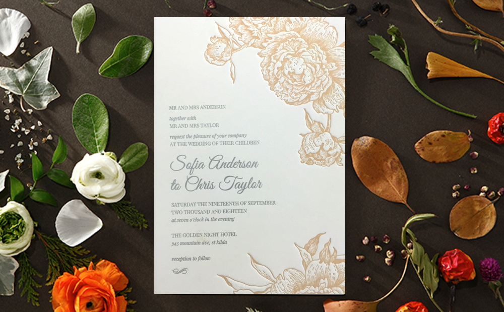 wedding-invite-rose-embossed