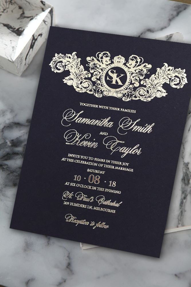 navy-foiled-monogram-invite