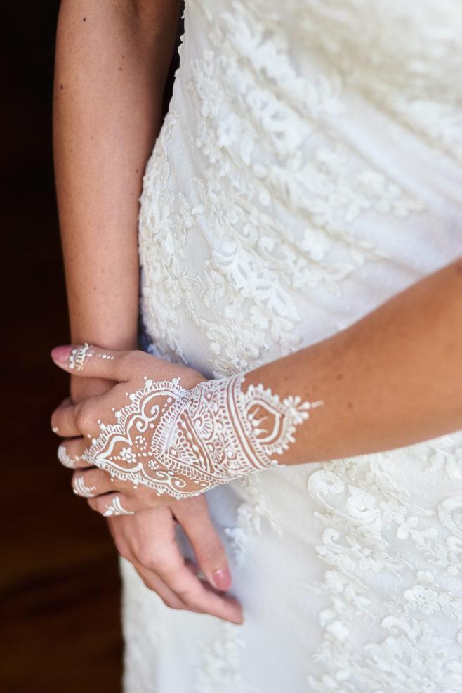 white-henna-bride