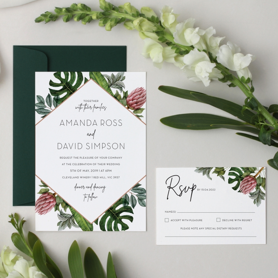 Botanical Island - Wedding Invitations - GI-KI300-CP-05 - 178684