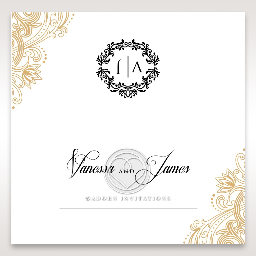Imperial Glamour without Foil place card stationery item