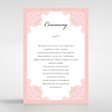 Blooming Charm - Order of Service - DG1520-WH-PK - 176294