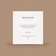 Gold/ Silver Ink or Black Reception Card - Wishing Well/Gift Registry - WPCD-IB - 178725