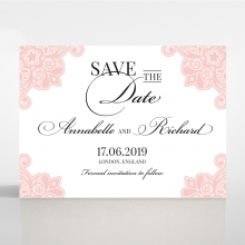 Floral Delight - Save the date - DS1520-WH-PK - 176314