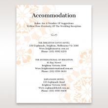Antique Frame accommodation invitation card design