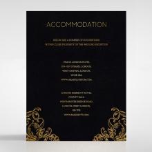 Aristocrat accommodation invite card design