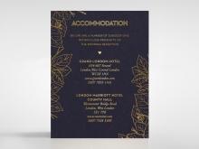 Botanical Canopy accommodation card