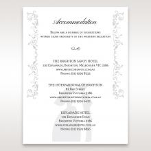 Bridal Romance wedding stationery accommodation invite