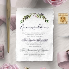Country Charm accommodation stationery