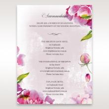 Enchanting Forest 3D Pocket wedding stationery accommodation enclosure card