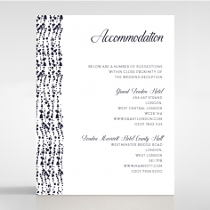 Enchanting Halo accommodation enclosure stationery card design