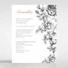 English Rose accommodation stationery