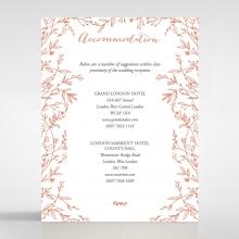Fleur accommodation invite card