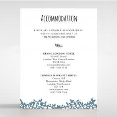 Forest Love accommodation invite card design