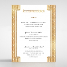 Gilded Glamour accommodation invite