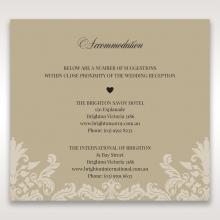 Golden Beauty accommodation invite