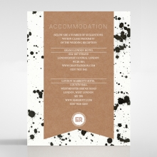 Graffiti accommodation invite
