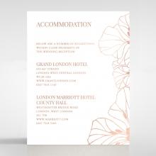 Grand Flora accommodation invite