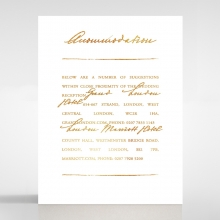 Love Letter accommodation enclosure card