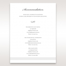 Marital Harmony accommodation wedding card