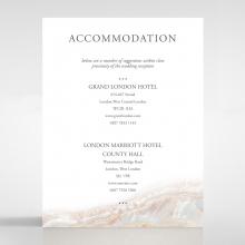 Moonstone accommodation enclosure invite card