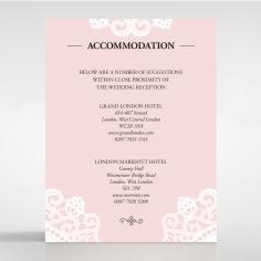 Oriental Charm accommodation enclosure stationery invite card design