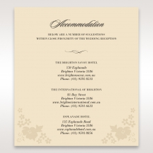 Precious Pearl Pocket accommodation stationery card design