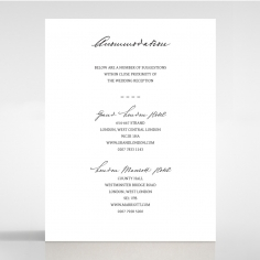 Pure Charm accommodation enclosure card