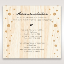 Splendid Laser Cut Scenery accommodation enclosure card design