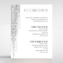 Star Shower accommodation enclosure card