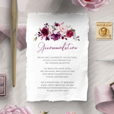 Their Fairy Tale accommodation enclosure card