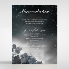 Under the Stars accommodation invite card