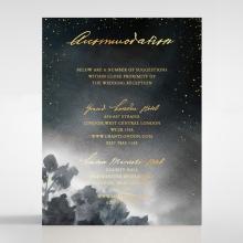 Under the Stars accommodation invite card design