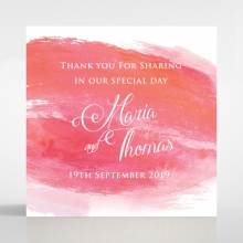 At Sunset wedding stationery gift tag