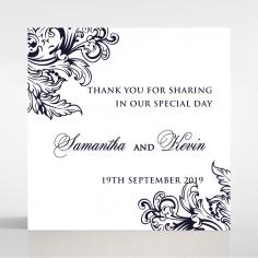 Baroque Romance wedding stationery gift tag design