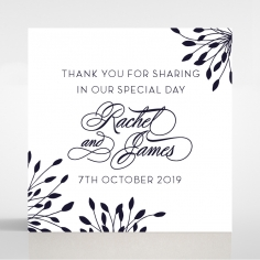 Bursting Bloom wedding stationery gift tag design