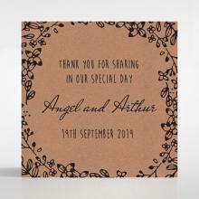 Charming Garland wedding stationery gift tag item