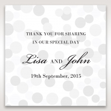 Contemporary Celebration wedding gift tag stationery design