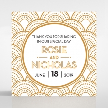 Contemporary Glamour gift tag stationery