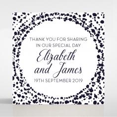 Enchanting Halo wedding gift tag design