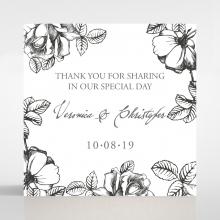 English Rose gift tag design