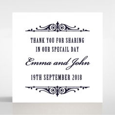 Gradient Glamour gift tag stationery