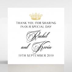 Ivory Doily Elegance wedding gift tag stationery