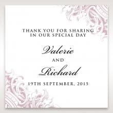 Jewelled Elegance wedding stationery gift tag item