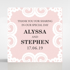 Oriental Charm gift tag stationery design