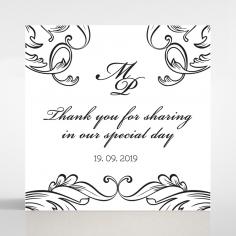 Paper Aristocrat wedding gift tag design