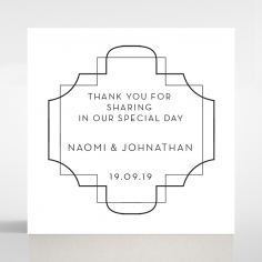 Paper Regal Enchantment wedding stationery gift tag item