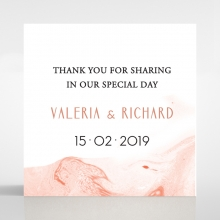 Serenity Marble wedding gift tag